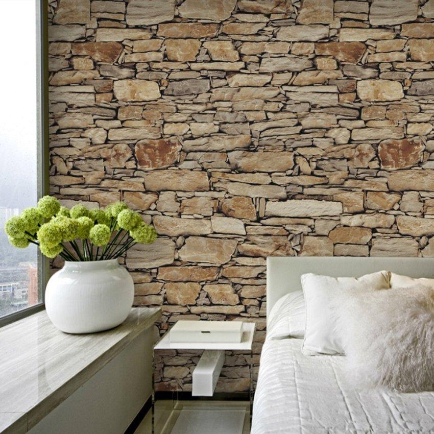 Обои имитирующие природные материалы - это простой и экономный вариант изменить свой интерьер