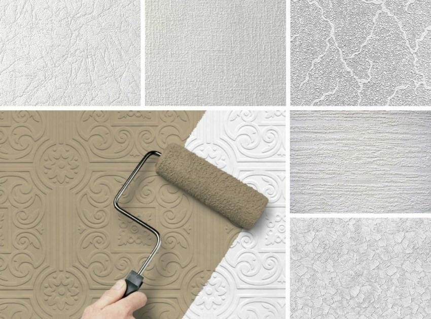 Благодаря широкому выбору текстур обоев под покраску, можно подчеркнуть или скрыть детали интерьера