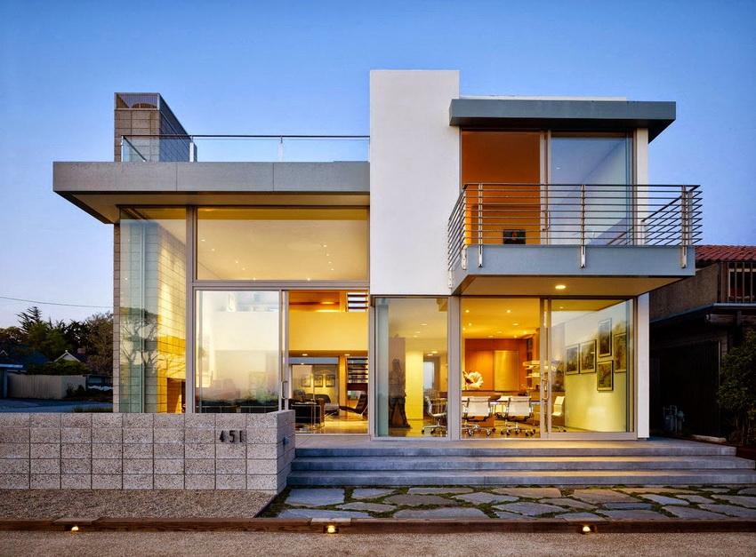 Дома с плоской крышей приобретают все большую популярность в силу новых модных направлений в дизайне
