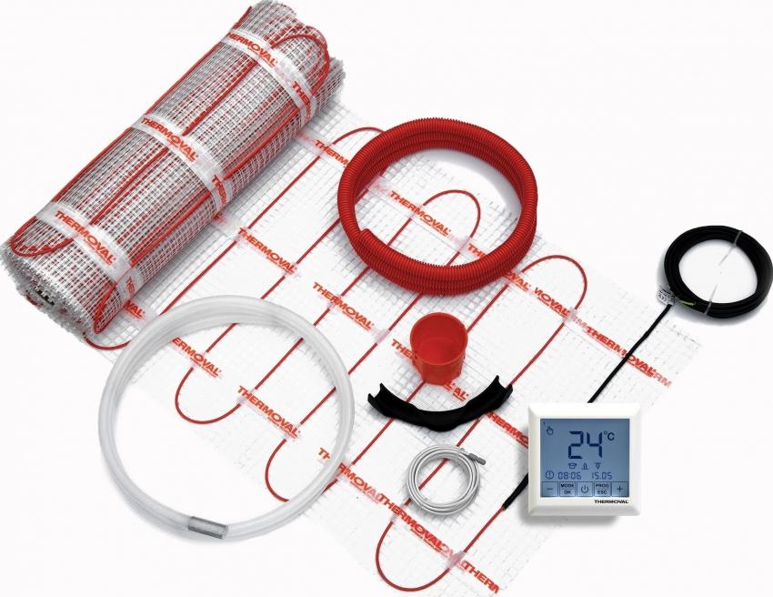 Приобрети систему теплого пола можно в комплекте со всеми необходимыми элементами