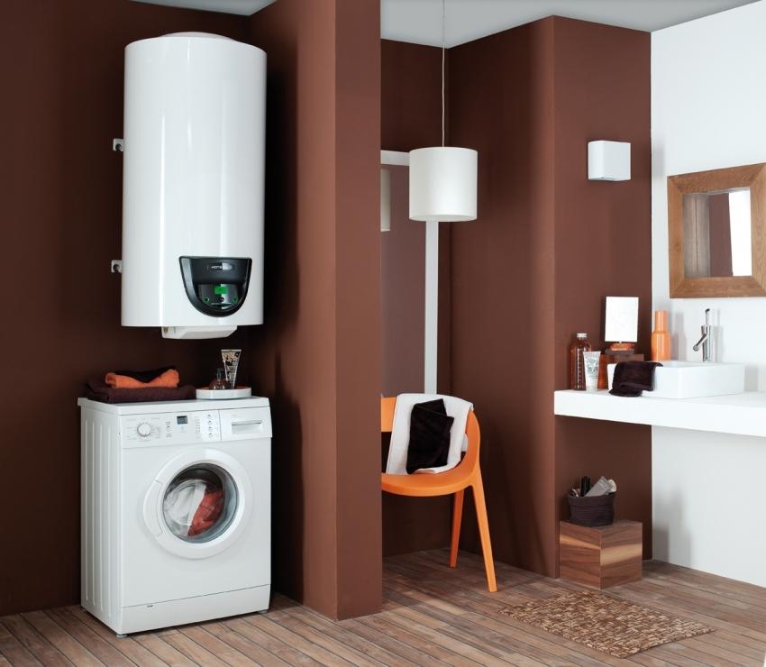 Объём бака бойлера зависит от количества человек проживающих в доме и необходимого количества горячей воды в сутки
