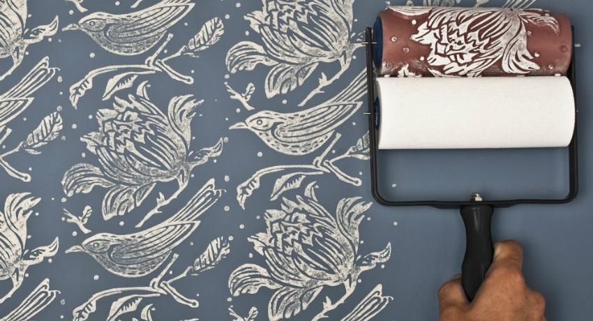 Декоративный валик для стен: особенности использования инструмента для покраски