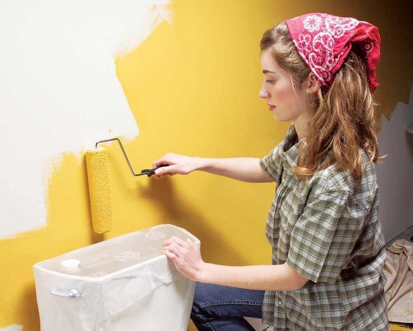 Малярный валик - один из самых удобных инструментов для покраски стен, потолка и других поверхностей