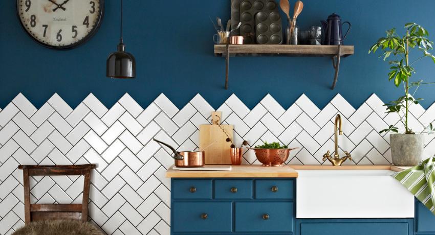 Фартук для кухни из плитки: фото оригинальных идей и советы по выбору