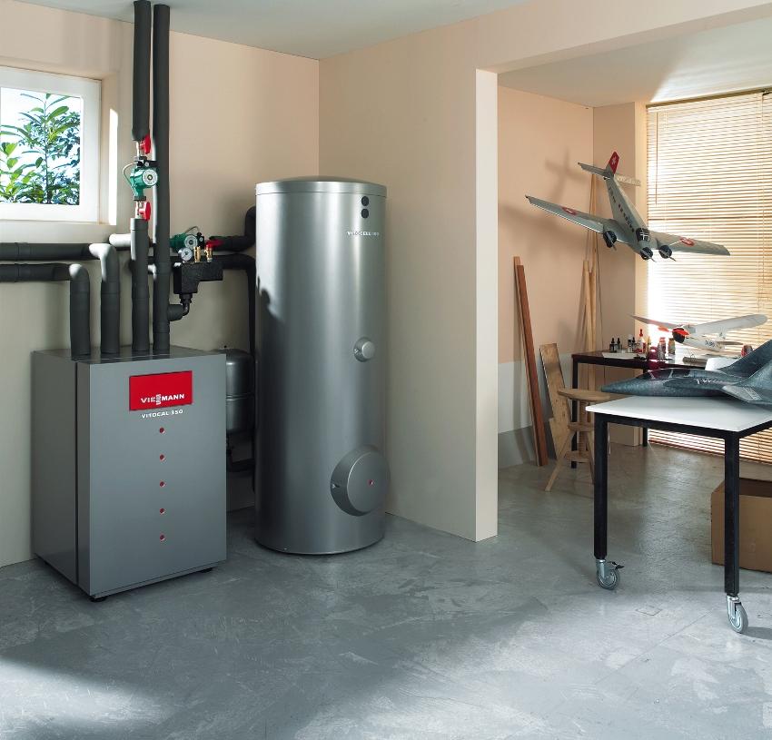 Автономная система отопления дает возможность регулирования температуры в помещении