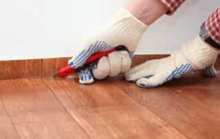 Как стелить линолеум: правила раскройки и укладки напольного покрытия