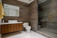 В современном дизайне интерьера все чаще используется плитка с иммиграцией натуральных материалов