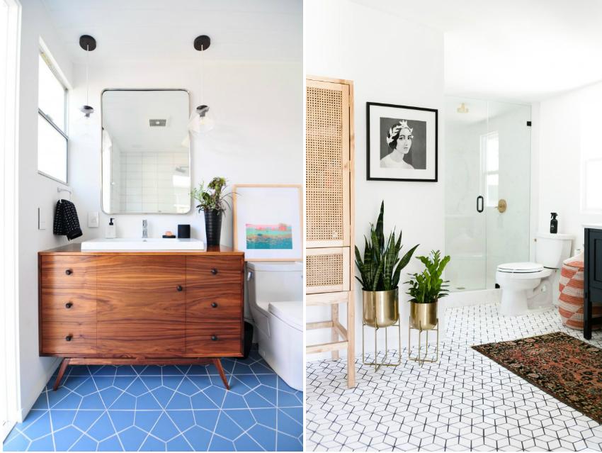 Выбирая вид плитки для ванной, нужно учесть его свойства, поскольку не все виды подойдут для влажной среды