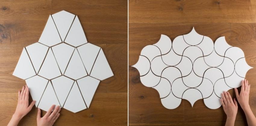 Современные производители предлагают покупателям множество коллекций керамической плитки различной формы