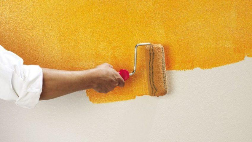 Состояние поверхности стен - важный момент в выборе красителя для обоев