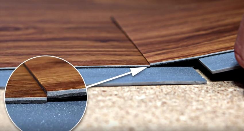 Замковая кварц виниловая плитка удобна в монтаже и не требует навыков работы