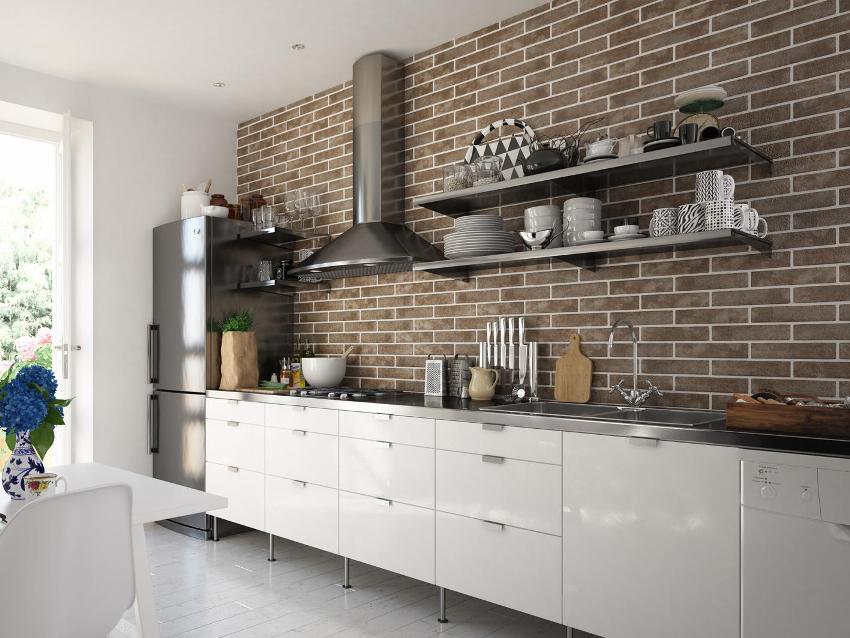 Керамика - идеальный материал для рабочей зоны на кухне