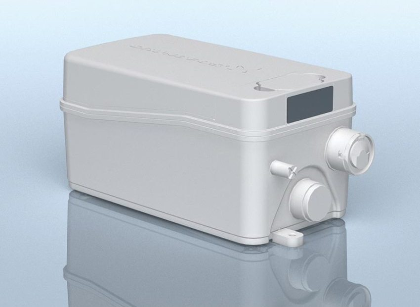 Sololift2 WC-1 – канализационная насосная установка со встроенным механизмом измельчения крупных частиц