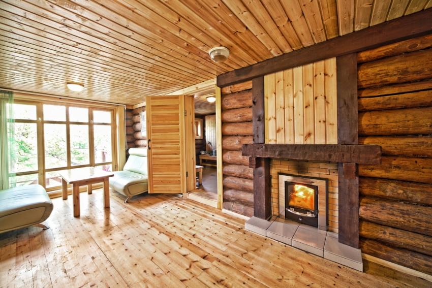 Правильно построенный портал для печи позволит готовить и прогревать банное помещение из комнаты отдыха