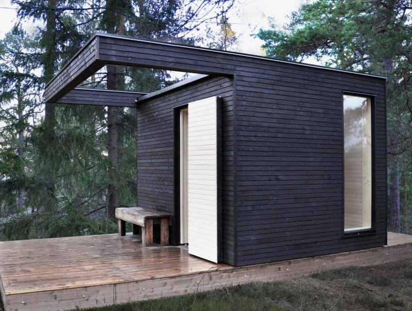 Простой проект строительства бани можно реализовать своими руками за кроткий период времени