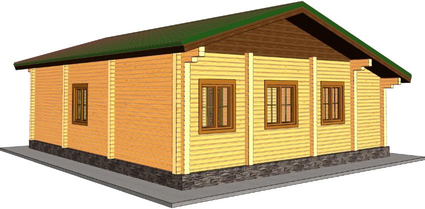 Проект дома из бруса должен быть составлен таким образом, чтобы оптимизировать нагрузки и предотвратить проседание и деформацию стен