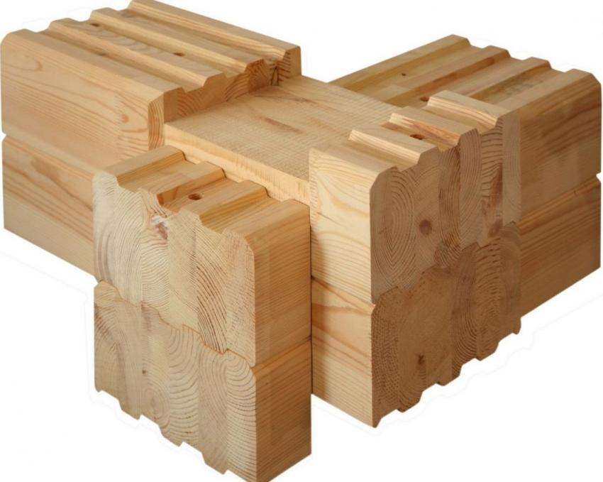 Для строительства финских домов используется брус премиум класса