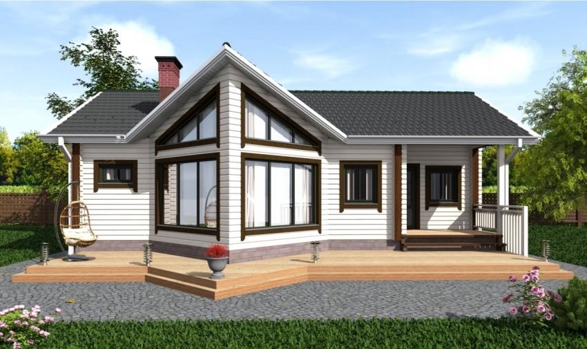 Стоимость строительства дома под ключ от компании «Домабрус» зависит от толщины используемого бруса