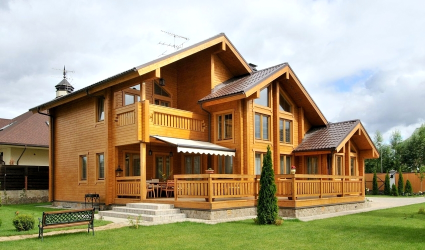 Выбрать дом из бруса под ключ можно, просмотрев каталоги готовых проектов у строительной компании