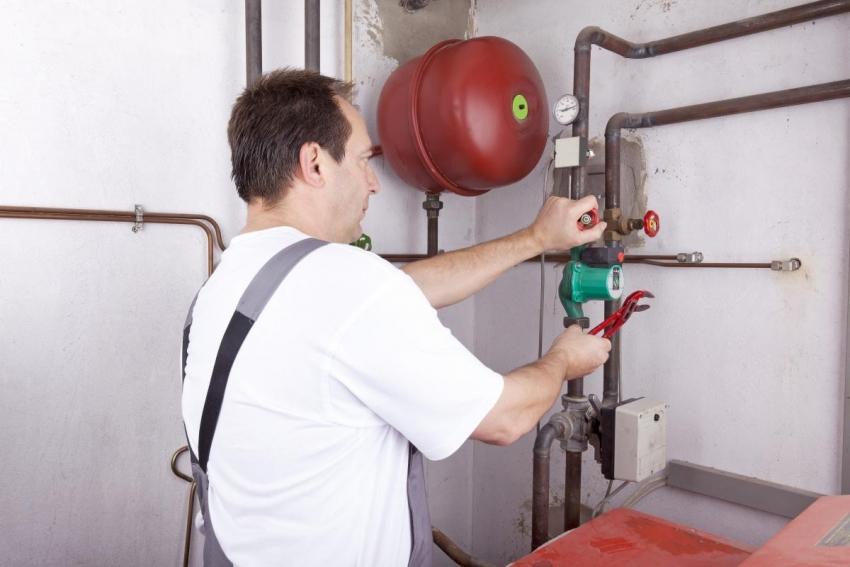 Способ закачки термоносителя зависит от типа системы отопления