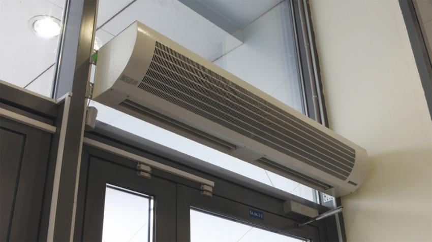 Тепловые завесы Тепломаш являются мощными устройствами и имеют высокую производительность
