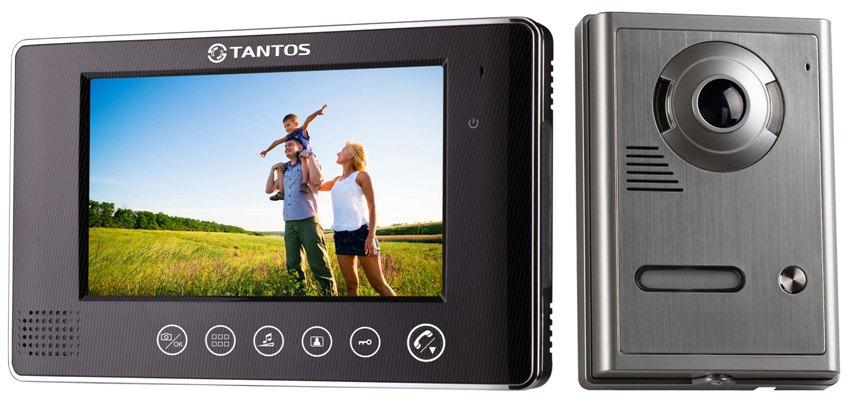 Видеодомофон с цветным монитором Tantos Neo GSM