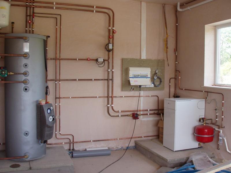 Схема монтажа водоснабжения дома