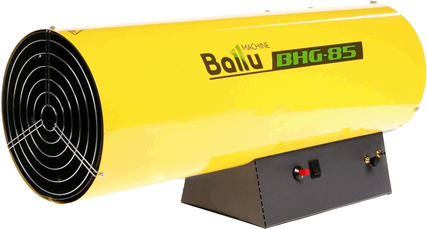 Для организации эффективного и экономически выгодного обогрева достаточно приобрести газовые воздухонагреватели ВАLLU