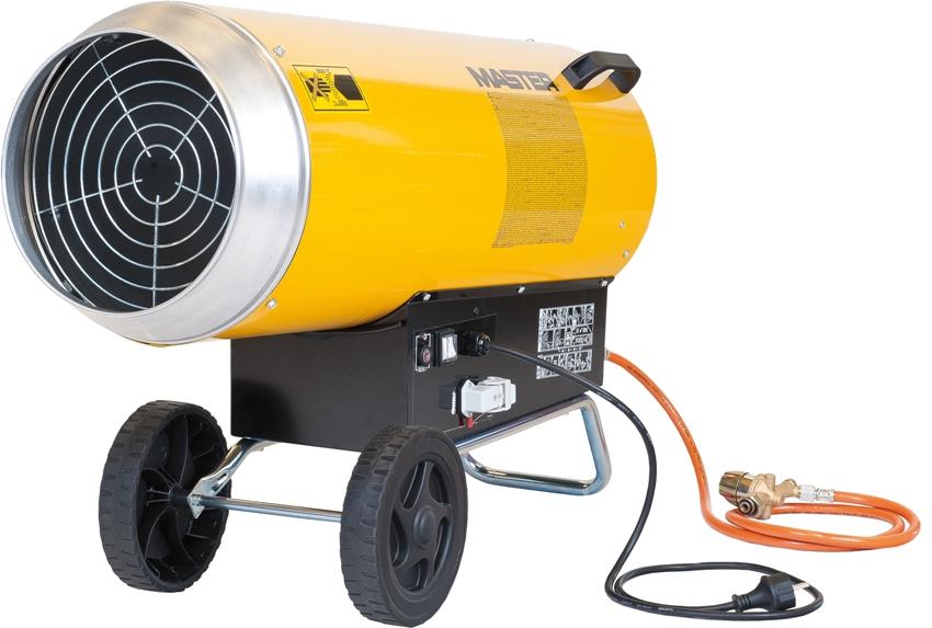 Газовая пушка для гаража — мобильное устройство, которое в зависимости от размеров, можно или перенести, или перекатить в другое место