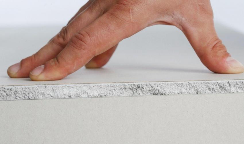 Стандартная толщина гипсокартонного листа бывает 12,5 и 9,5 мм