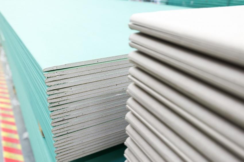 Гипсокартон продаются по цене за лист или за пачку, в зависимости от размера