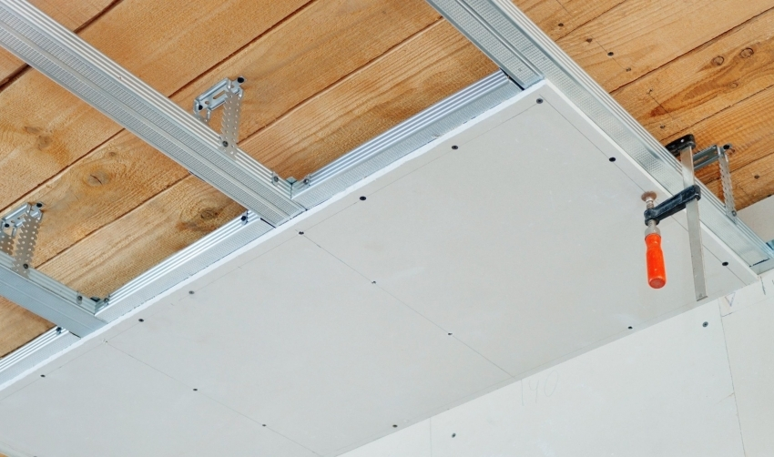 Металлические профили предназначены для создания каркаса для гипсокартонных конструкций