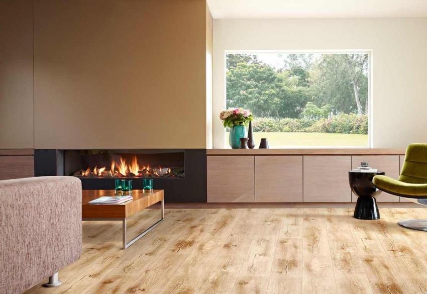 Правильное расположения камина играет важную роль в оформлении гостиной