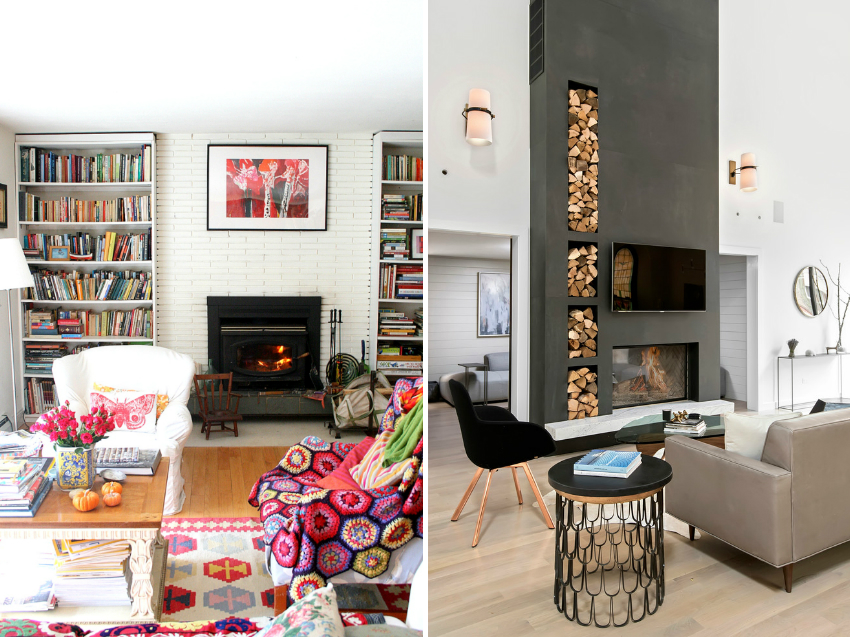 Камин способен украсить любое помещение, сделав комнату уютной
