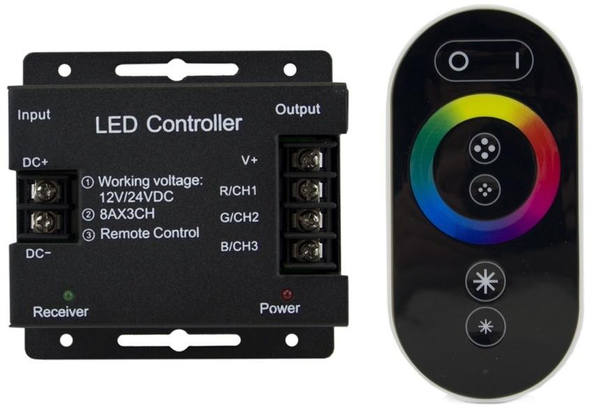 Пульт и контроллер созданы для совместной работы друг с другом, они настроены на одну общую частоту и, кроме того, используют специально созданный под них алгоритм шифрования радиосигналов