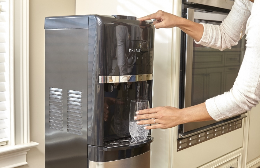 Современные кулеры для воды с функциями охлаждения и нагрева оснащены регулятором температуры воды