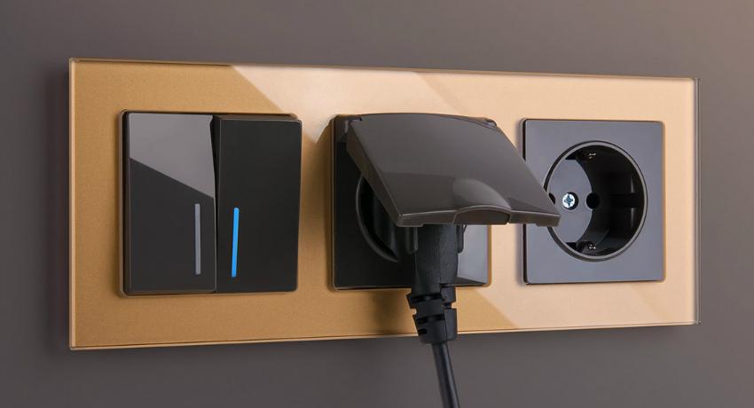 Розетка с выключателем в одном корпусе и специфичность этой конструкции