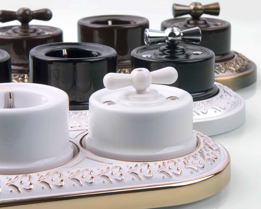Ретро розетки с выключателями от компании Werkel пользуются большой популярность среди покупателей