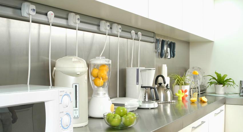 Розетки на кухне: расположение, схемы и особенности каждого типа конструкций