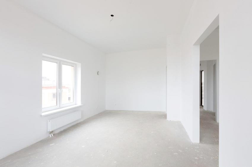 Ровные белые стены позволяют воплотить любые дизайнерские решения, поэтому данному этапу ремонта стоит уделить особое внимание