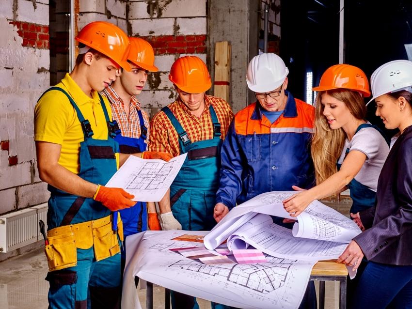 Ремонт квартиры под ключ включает все этапы — от проектирования до вывоза строительного мусора