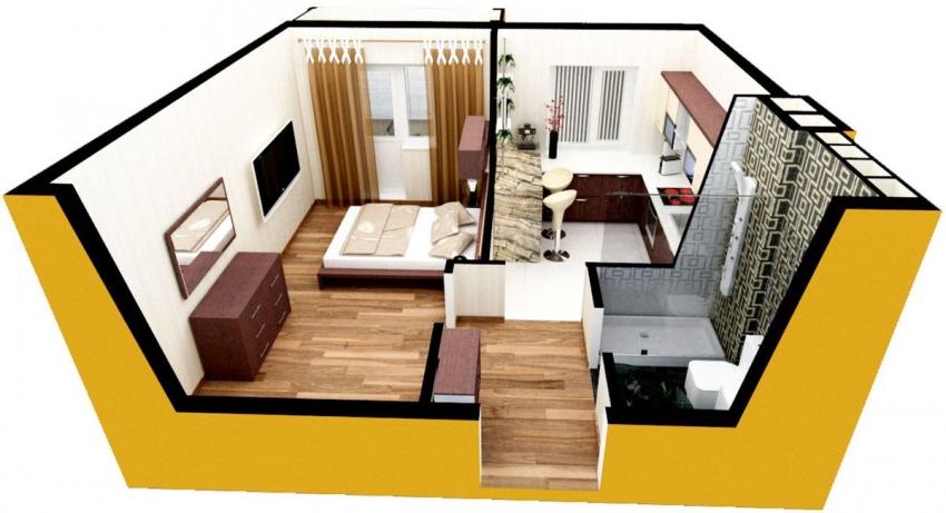 Дизайн-проект квартиры помогает не только определится с расстановкой мебели, цветовыми решениями и отделкой стен, но и позволяет правильно расположить розетки, краны и источники света