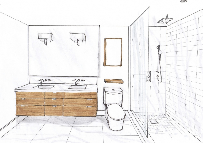 Дизайн-проект каждой комнаты можно заказать у специалиста или проработать самостоятельно