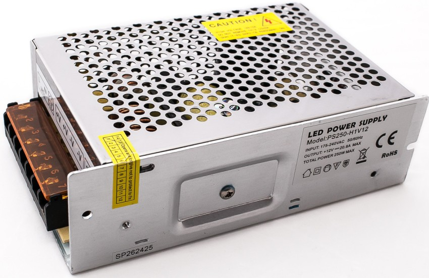 Главным компонентом LED системы является блок питания, представляющий собой трансформатор небольшого размера, обеспечивающий электропитание светодиодов