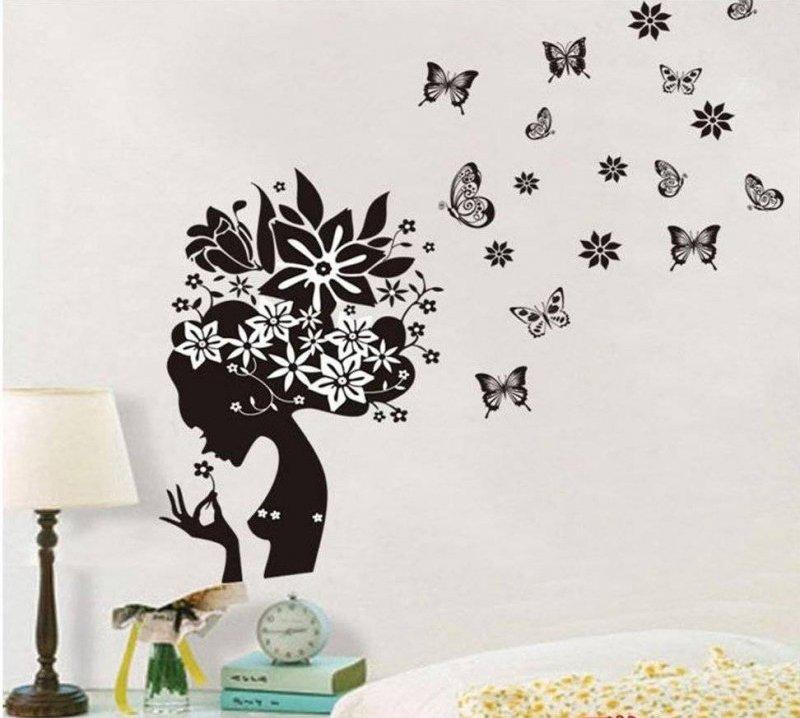 Трафареты для декора : большой выбор шаблонов для стен
