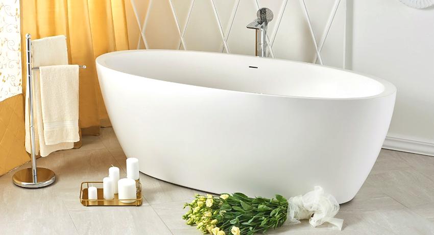 Акриловая ванна: размеры, формы и обзор популярных изделий