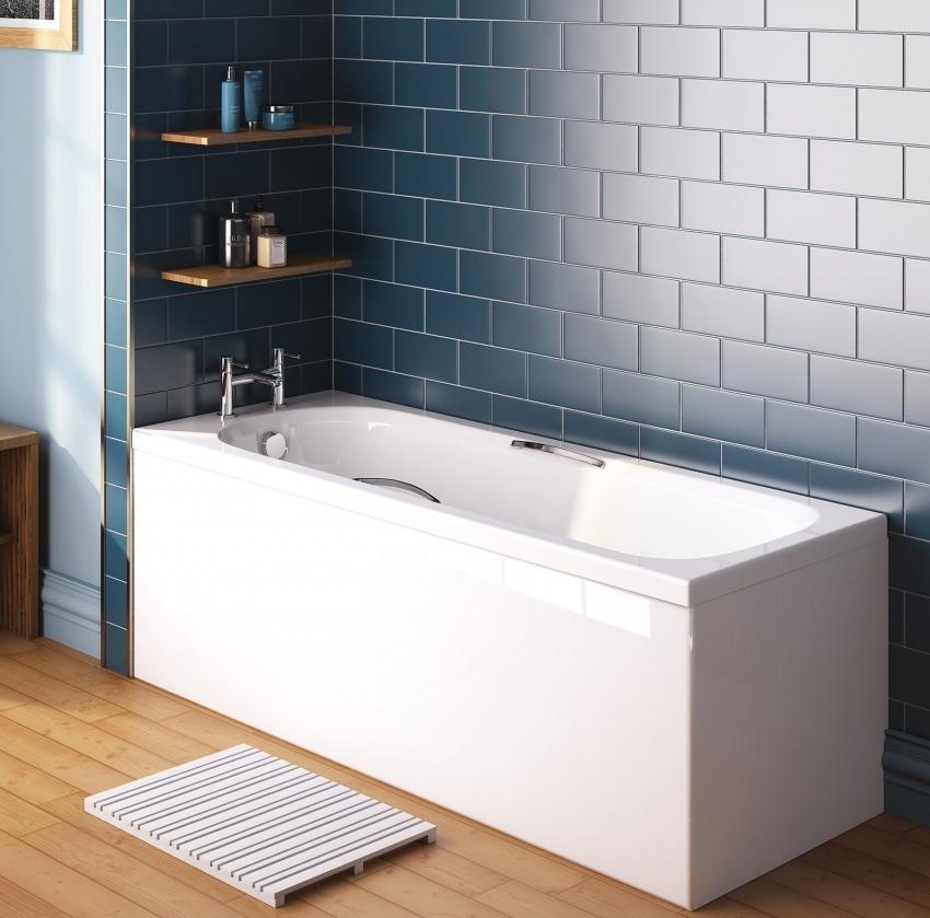 Современные ванны из акрила представлены в широком разнообразии размеров и форм