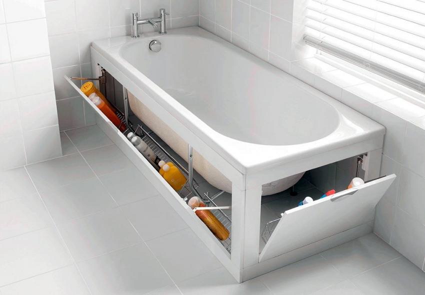 Модель акриловой ванны от компании Cersanit SANTANA 170
