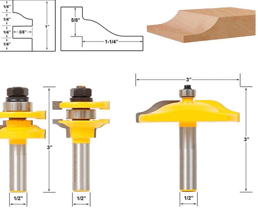Перед тем как выбрать фрезу, надо в первую очередь определиться со способом ее крепления, а точнее, в каких единицах измеряются диаметр хвостовика - дюймах или миллиметрах