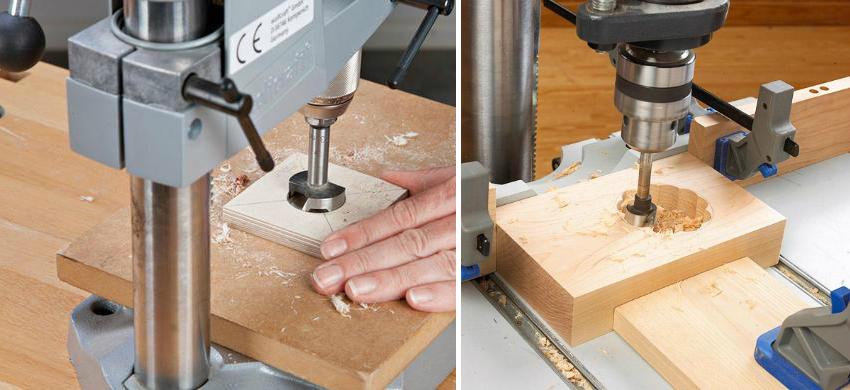 С помощью фрезерного станка можно надежно закрепить как инструмент, так и заготовку, что позволит получить высшее качество изделия